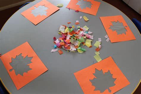 Fensterdeko Herbst Kindergarten by Seedlings Nursery School Easy Autumn Suncatchers