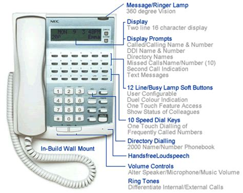 nec phone system manual nec xn120 phone systems southern communications