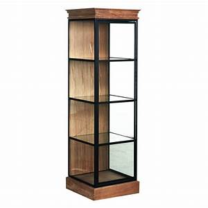 Petite Vitrine En Verre : vitrine ch ne fer forg et porte vitr musea vitrines ~ Dailycaller-alerts.com Idées de Décoration