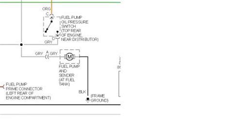 Chevy Blazer Fuel Pump Pressure Switch Where The