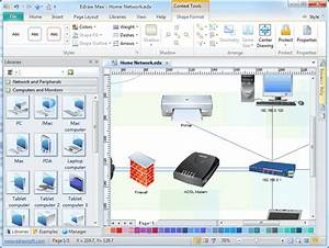 Detail Network Diagram Software  Free Examples And