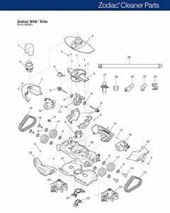Zodiac Mx8 Elite Parts Diagram