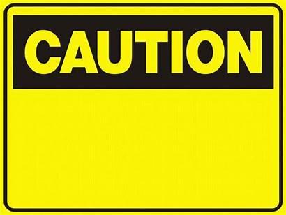 Caution Blank Signs Tweet