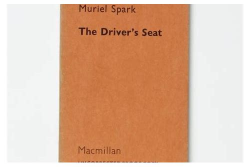 the driver's seat muriel spark free download