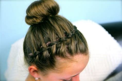 Flower Girl French Braid Hairstyles