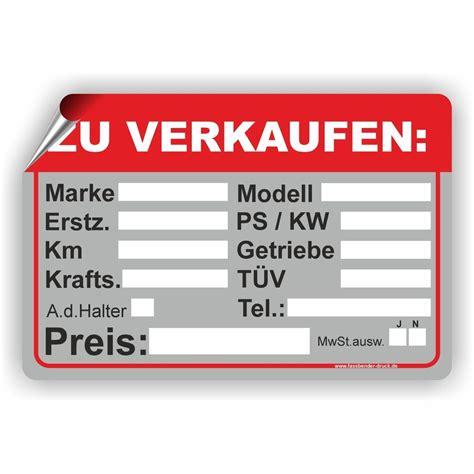 auto zu verkaufen pkw kfz ps kw marke modell tuev aufkleber