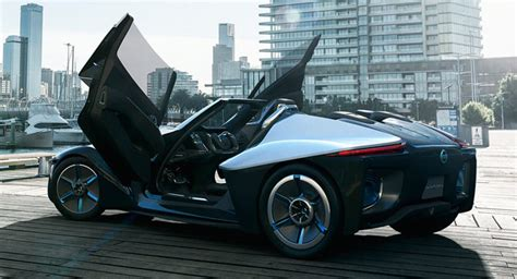 nissan bladeglider concept heading  production