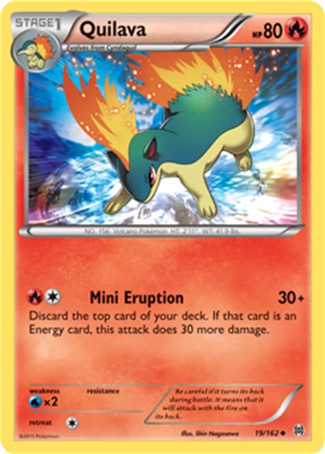 Typhlosion Deck List Breakthrough by Quilava Xy Breakthrough Tcg Card Database