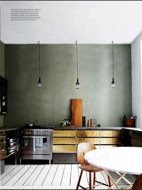 gold kitchen love
