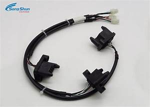 20awg Black Custom Wiring Harness   12 Pin Connector Wire