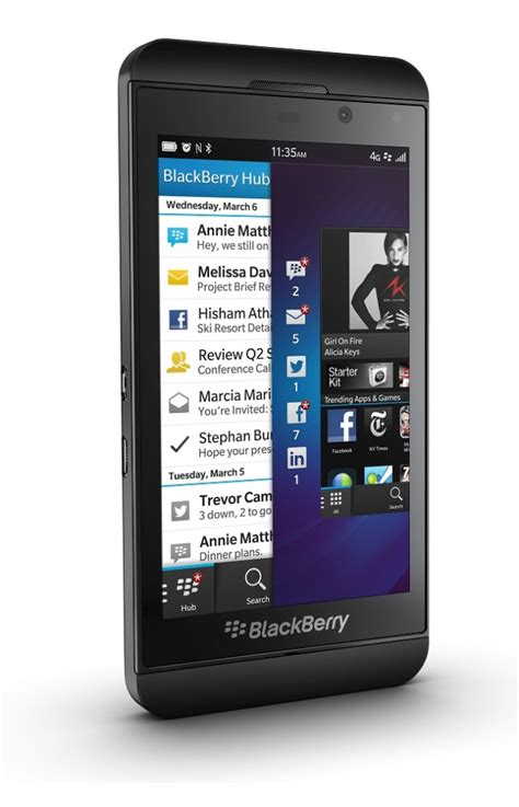 blackberry z10 4g lte black