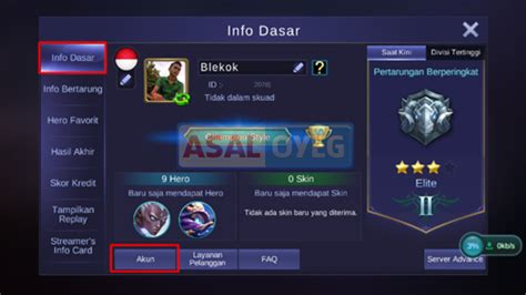 Cara Menghapus Akun Mobile Legends Di Android Dan Iphone