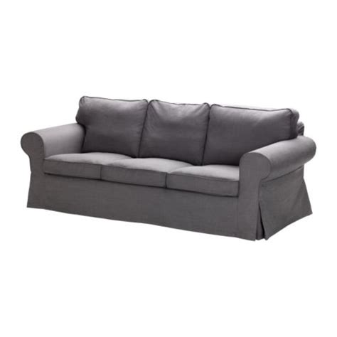 grey ektorp sofa ektorp three seat sofa svanby grey ikea