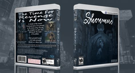 Shenmue Hd Playstation 3 Box Art Cover By Geob01