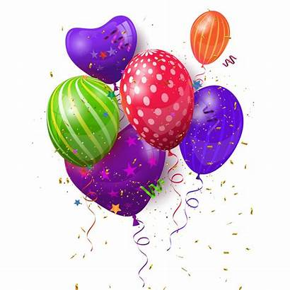 Balloons Celebration Birthday Searchpng Transparent Ballons