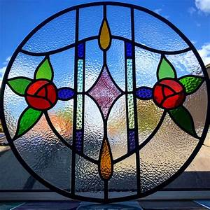 Bespoke, 1930s, Art, Nouveau, Stained, Glass, Design