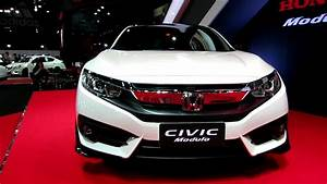 2016 Honda Civic Modulo White - Exterior Walkaround ...