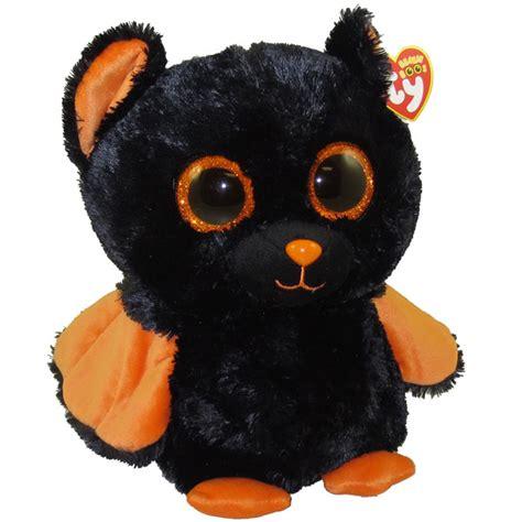 ty beanie boos midnight  bat glitter eyes medium size   bbtoystorecom toys
