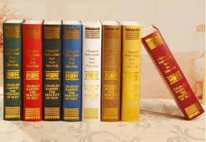 popular fake books for decoration buy cheap fake books for
