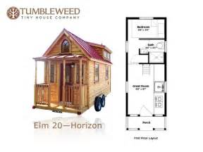Tiny House Plan by Tumbleweed Tiny House Company Plans Redesign