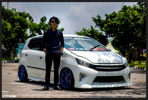 Toyota Agya Trd 2017 Modifikasi by Cara Modifikasi Mobil Toyota Agya Ceper Terbaru 2017