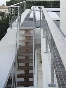 Escalier D Extérieur : escalissime nos escaliers escaliers d 39 ext rieur limon central bois iroko ~ Preciouscoupons.com Idées de Décoration