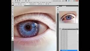 Albino Eye By Elenasai  Speed Painting