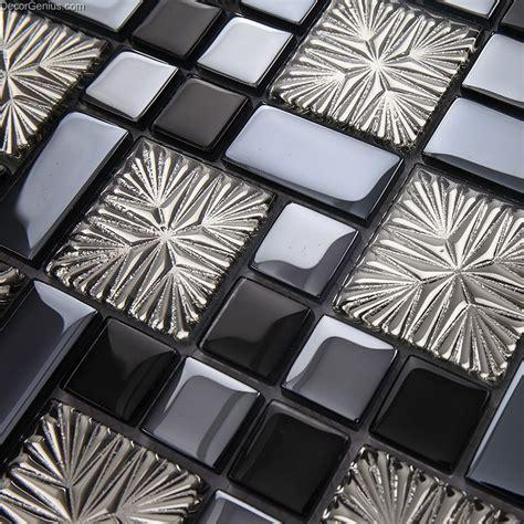 galvanized  metalic discount backsplash kitchen mosaic tile