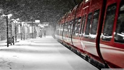 Winter Train Wallpapers 4k Standard