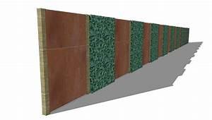 Sichtschutz Garten 2 Meter Hoch : sichtschutzkombinationen teil 6 sichtschutz mit spalierobst aluminiumpfosten und ~ Bigdaddyawards.com Haus und Dekorationen
