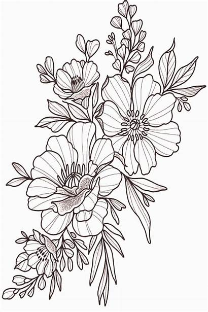 Lower Tattoos Flower Tattoo Drawing Sketches Floral