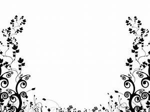 Black And White Flower Backgrounds 2 Desktop Background ...