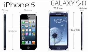 Taille Des Iphone : iphone 5 vs galaxy s3 ~ Maxctalentgroup.com Avis de Voitures