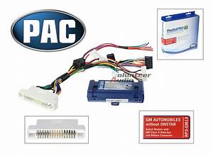Gm Car Radio Stereo Install Installation Wiring Interface