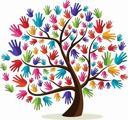 Diversity Celebrating Community Hands Tree Children Unique