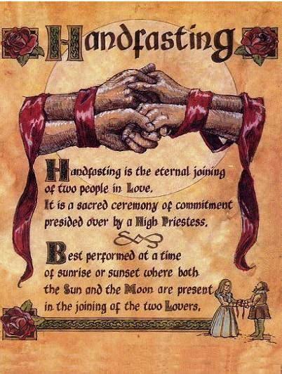 pagan   handfasting wiccan  pagan marriage