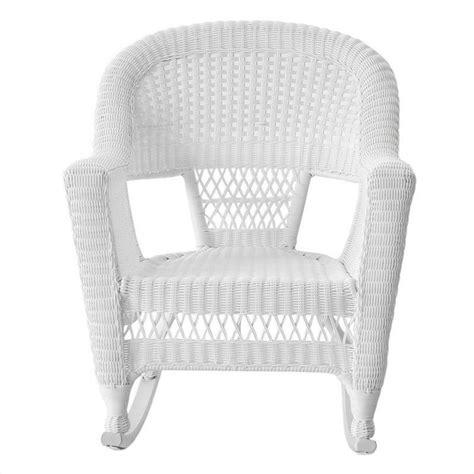 jeco rocker wicker chair in white set of 2 w00206r b 2