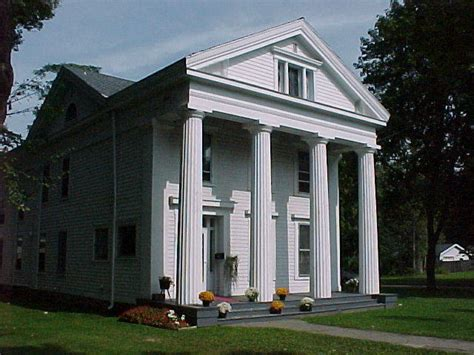 revival style homes history of the greek revival style home
