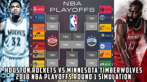 Houston Rockets Vs Minnesota Timberwolves! 2018 Nba