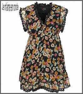 petite robe fleurie a porter selon l39envie sur un pantalon With robe fleurie femme