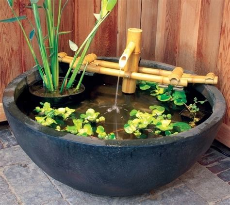 Bamboo Aquascape by Pond Supplies Pond Liner Water Garden Supplies