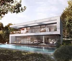 Bauhaus Bungalow Fertighaus : villa im bauhausstil okal haus fertighaus ~ Sanjose-hotels-ca.com Haus und Dekorationen