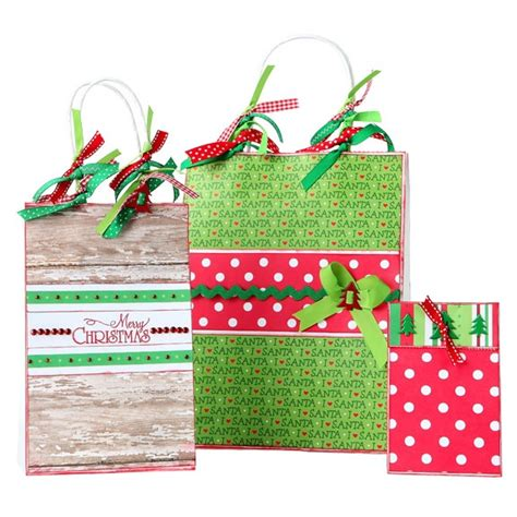 christmas gift bags gift wrap ideas pinterest