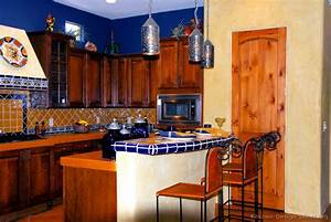 mexican kitchen design pictures and decorating ideas With kitchen colors with white cabinets with mexico wall art