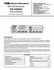 Vertex Standard Vx