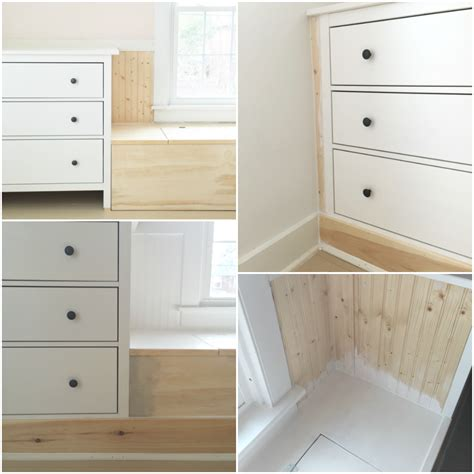 how to make a dresser dresser window seat built in with ikea hemnes