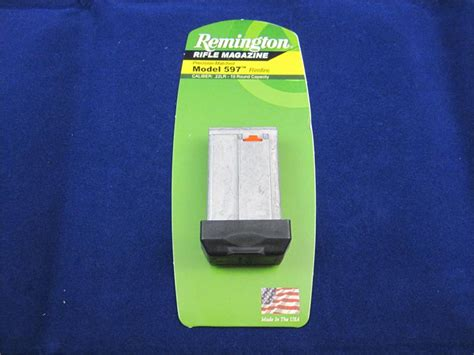 Remington Model 597 22lr 10round Box Magazine Silver