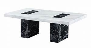 Vienna coffee table vienna marble dfs ireland for Black and white marble coffee table