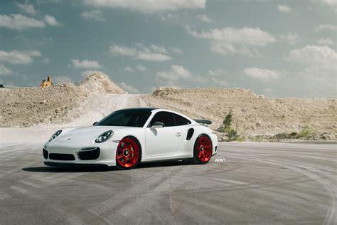 911 Turbo S Wheels by White Porsche 911 Turbo S Adv07r M V2 Cs Series