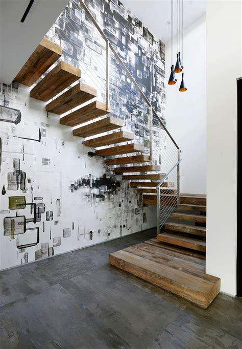 tapisserie pour bureau treppenhaus renovieren 63 ideen zum neuen streichen